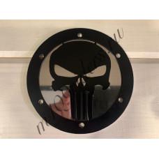 """Крышка генератора """"PUNISHER"""". Черная на нержавейке для M109R, VZR1800, M1800R"""