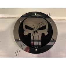 """Крышка генератора """"PUNISHER"""" нержавейка на черном для M109R, VZR1800, M1800R"""
