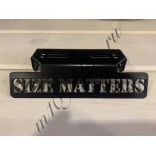 """Кронштейн крепления поворотников """"SIZE MATTERS"""" черный для M109R, VZR1800, M1800R"""