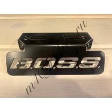 """Кронштейн крепления поворотников """"B.O.S.S."""" черный для M109R, VZR1800, M1800R"""