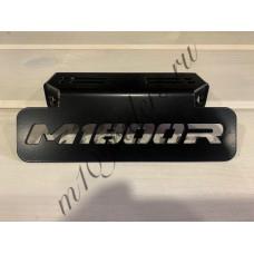 """Кронштейн крепления поворотников """"M1800R"""" черный для M109R, VZR1800, M1800R"""