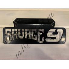 """Кронштейн крепления поворотников """"SAVAGE 9"""" черный для M109R, VZR1800, M1800R"""